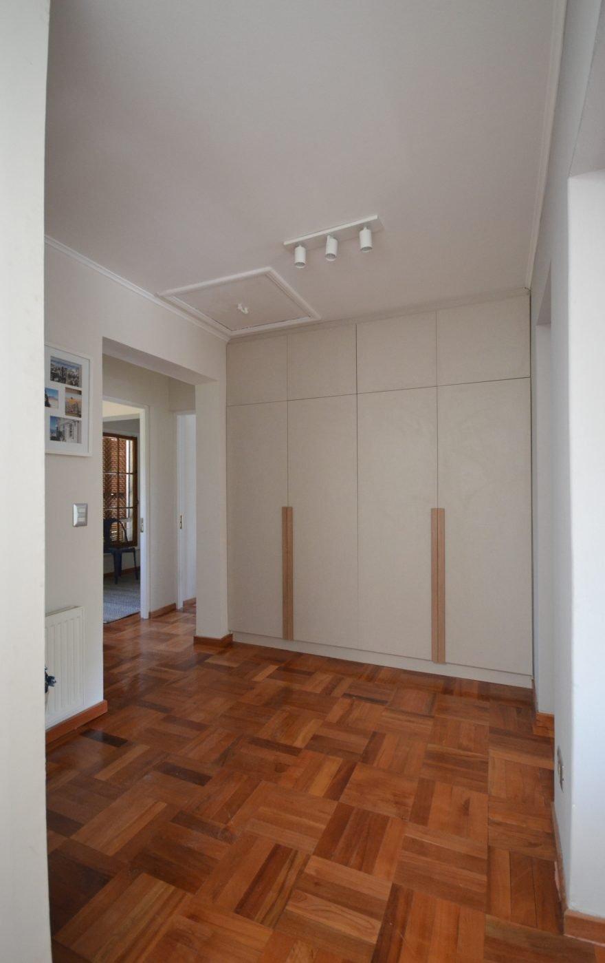 Hall dormitorios Casa Rey